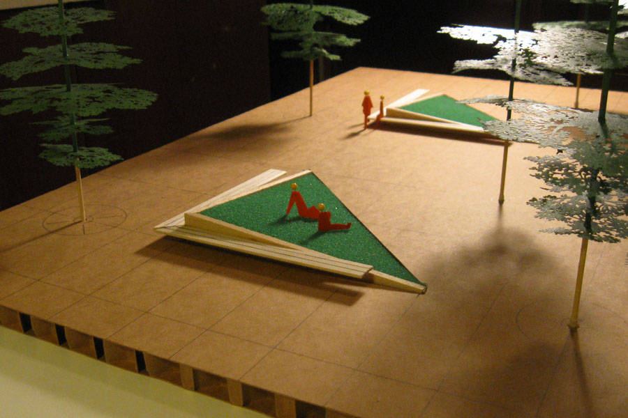 JLHS Plaza - Concept Model
