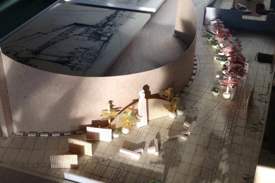 OLLV Plaza-Study Model